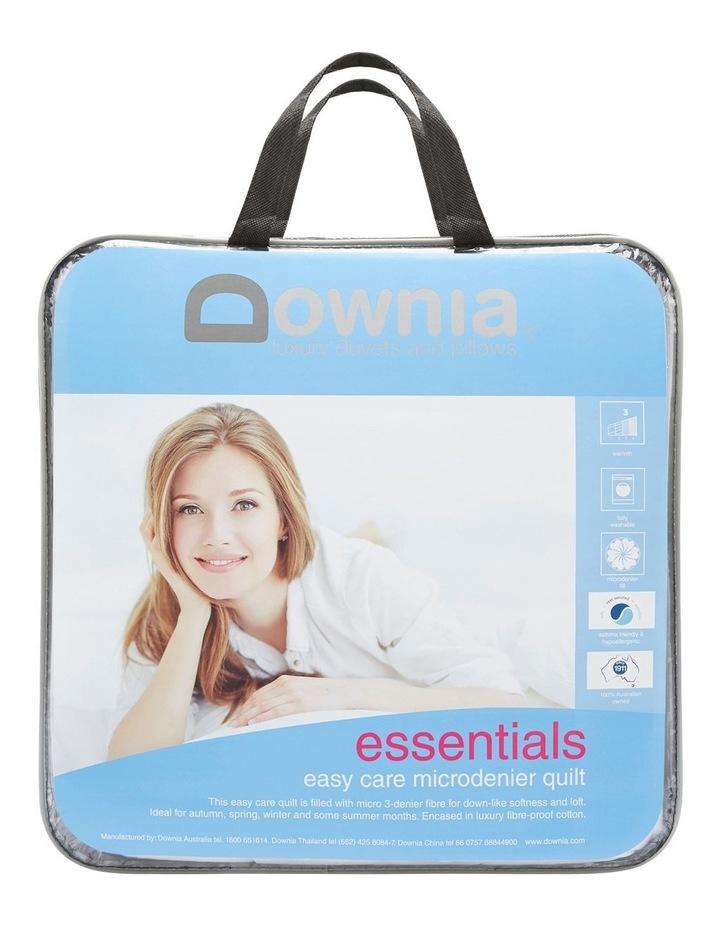 Essentials Easy Care Microdenier Quilt image 1
