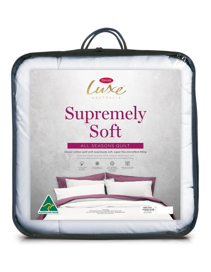 Luxe Supremely Soft Quilt - All Seasons image 1