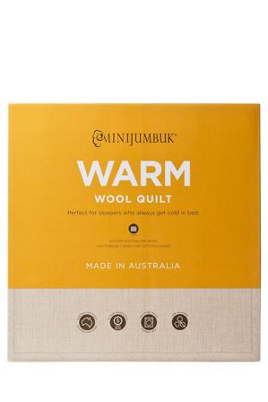 Mini Jumbuk - Warm Wool Quilt