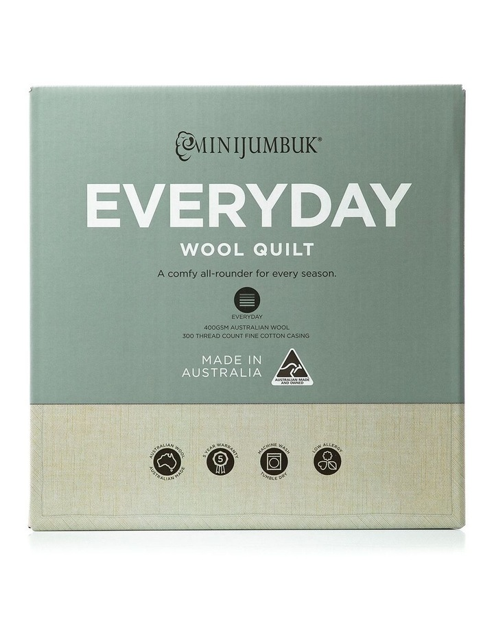 Everyday Wool Quilt image 1