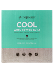 Mini Jumbuk - Cool Wool/Cotton Quilt
