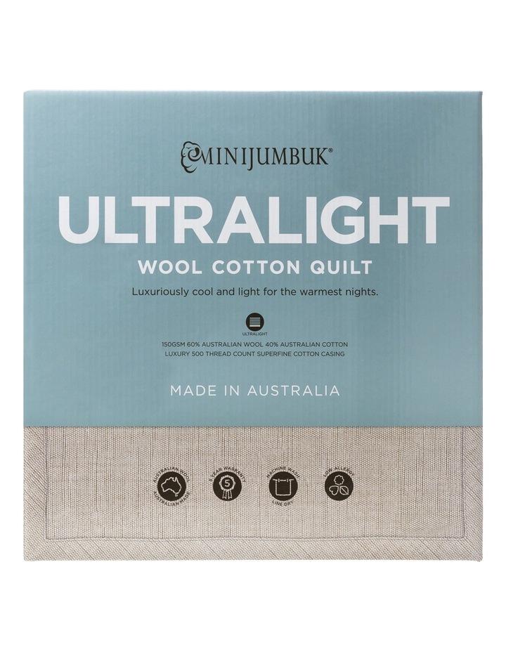 Light Wool/Cotton Quilt image 1