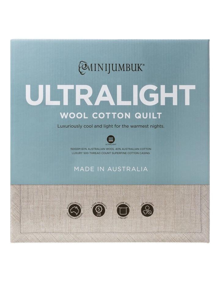 Ultralight Wool/Cotton Quilt image 1