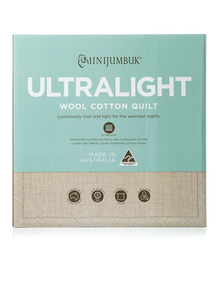 Ultralight Wool/Cotton Quilt image 1