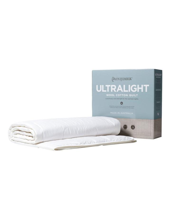 Ultralight Wool/Cotton Quilt image 2