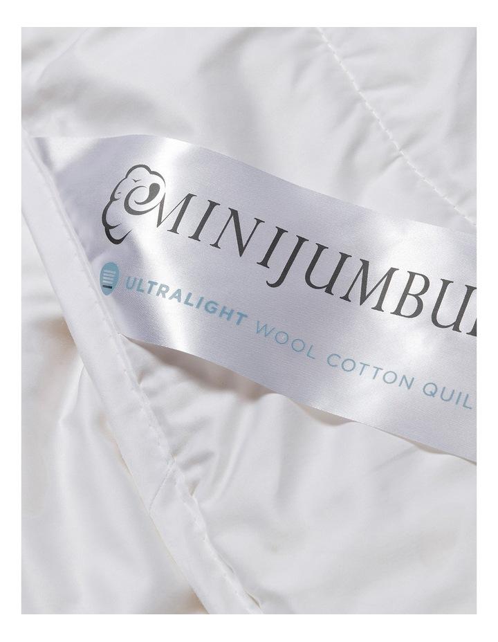 Light Wool/Cotton Quilt image 4