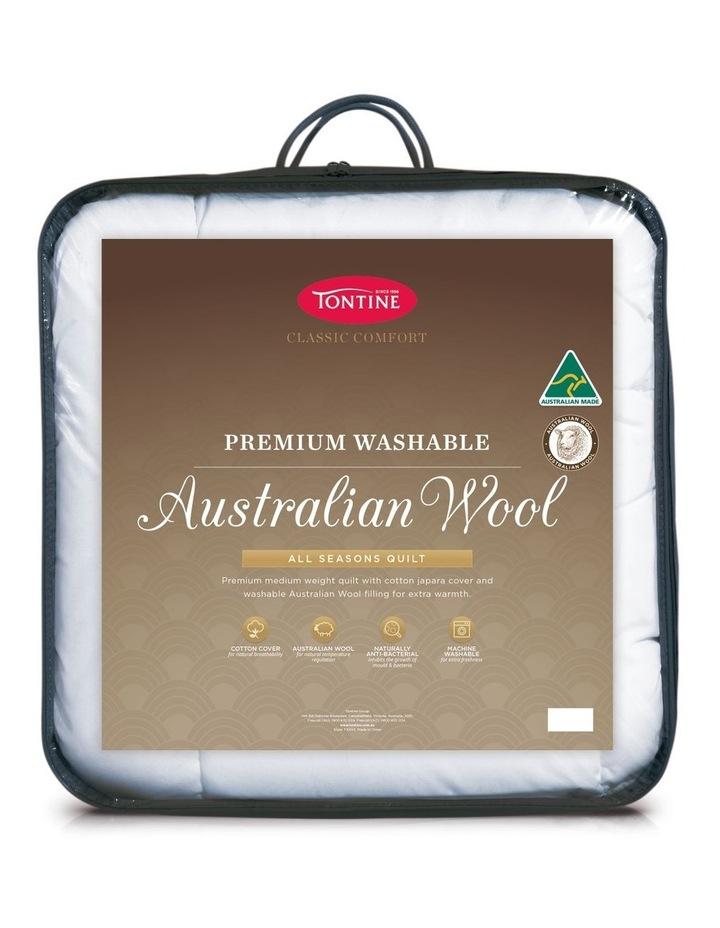 Classic Australian Wool All Seasons Quilt image 1
