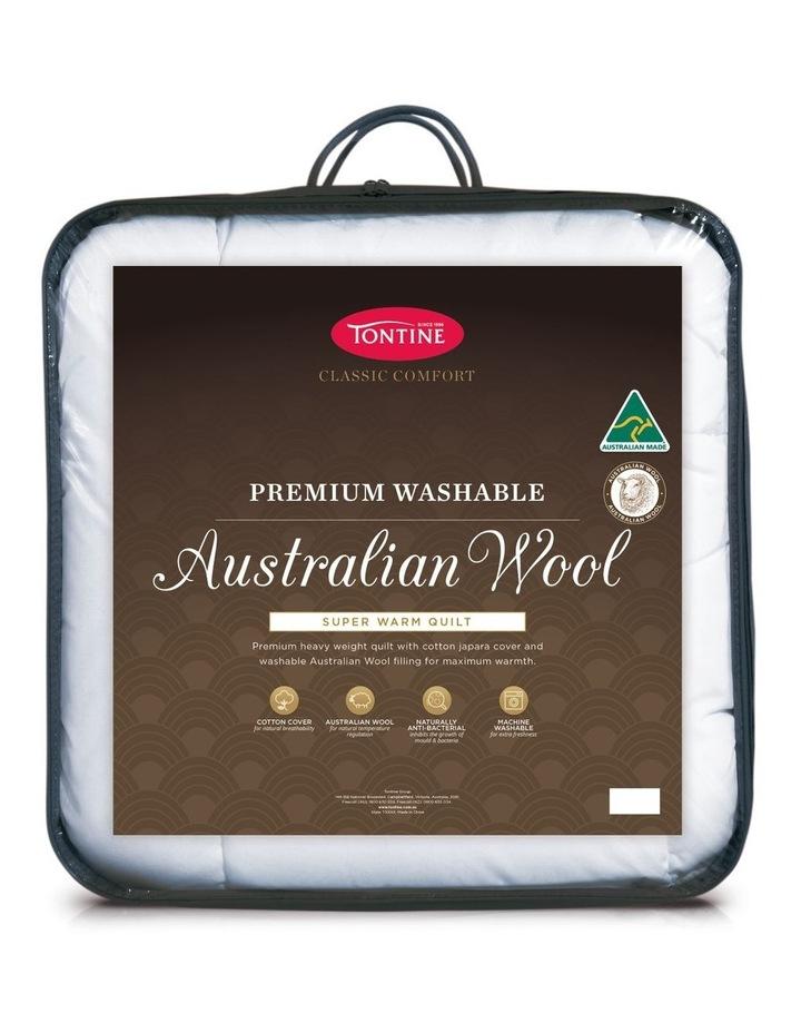 Classic Australian Wool Super Warm Quilt image 1