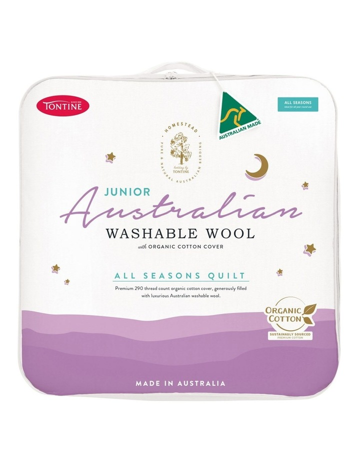 Homestead Junior Australian Washable Wool Quilt image 1