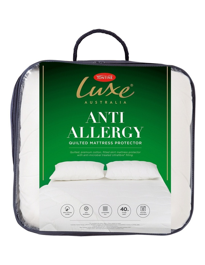 Tontine Luxe Anti-Allergy Polyester Mattress Protector image 1