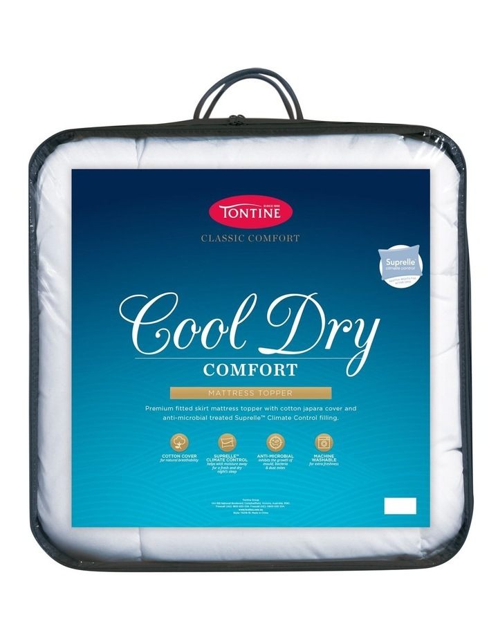 Cool Dry Comfort Mattress Topper image 1