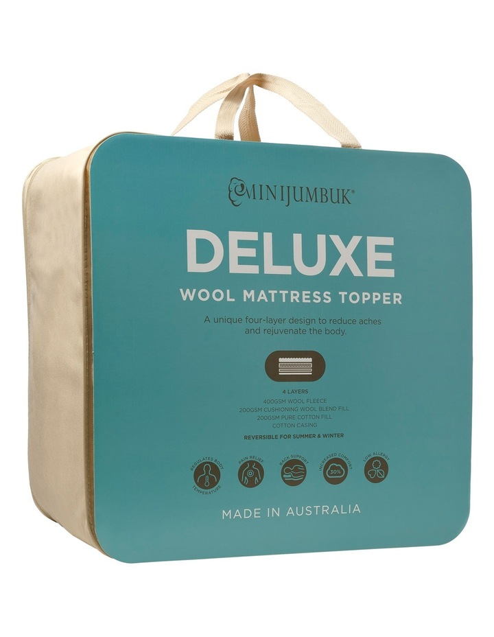Deluxe Mattress Topper image 1