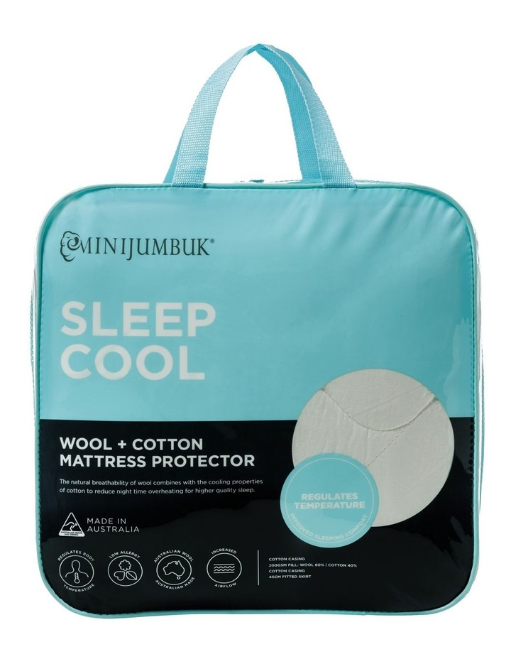 Sleep Cool Wool/Cotton Mattress Protector image 1