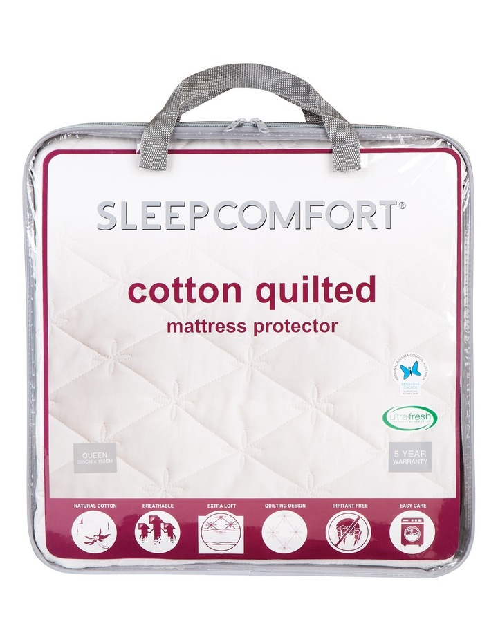 Quilted Cotton Mattress Protector image 1