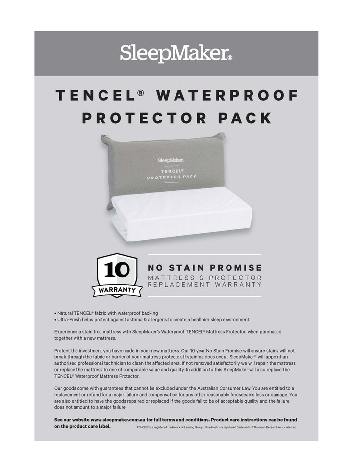 Sleep Collections Tencel Waterproof Protector image 4