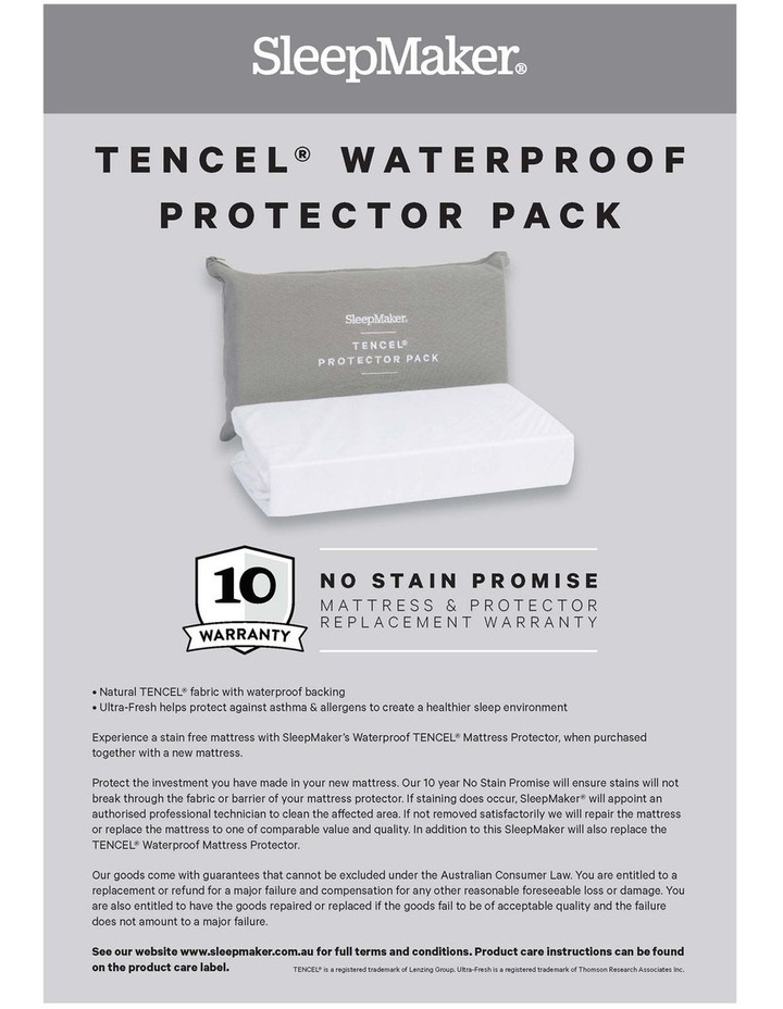Sleep Collections Tencel Waterproof Protector image 4