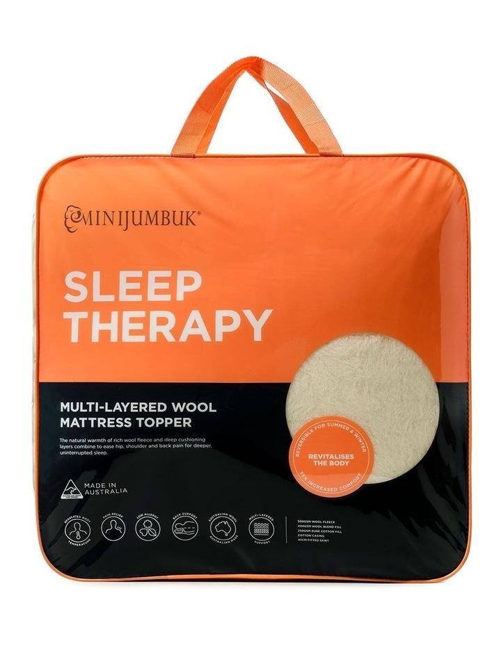 Sleep Therapy Wool Mattress Topper image 1