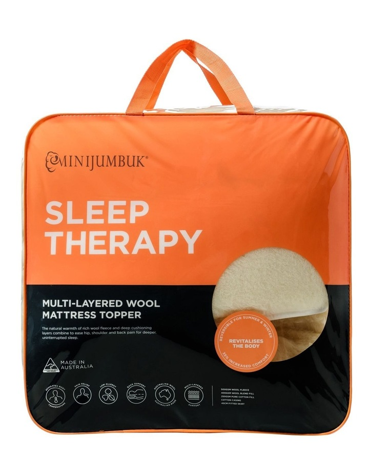 Sleep Therapy Wool Mattress Topper image 1