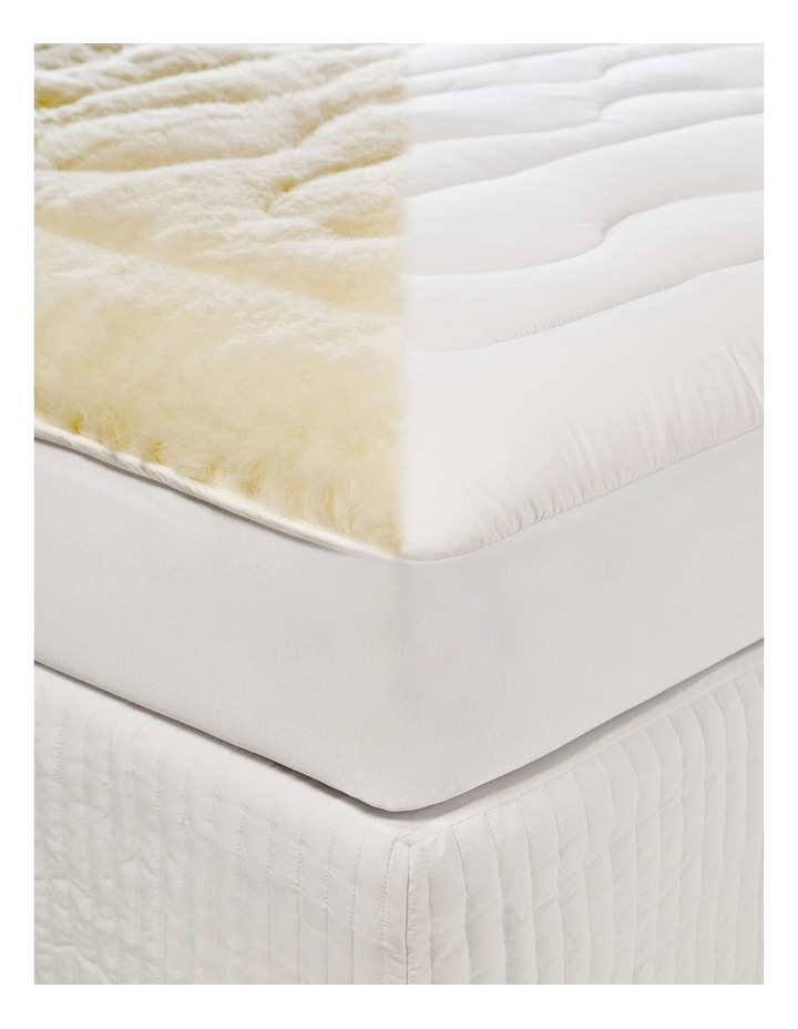 Sleep Therapy Wool Mattress Topper image 4