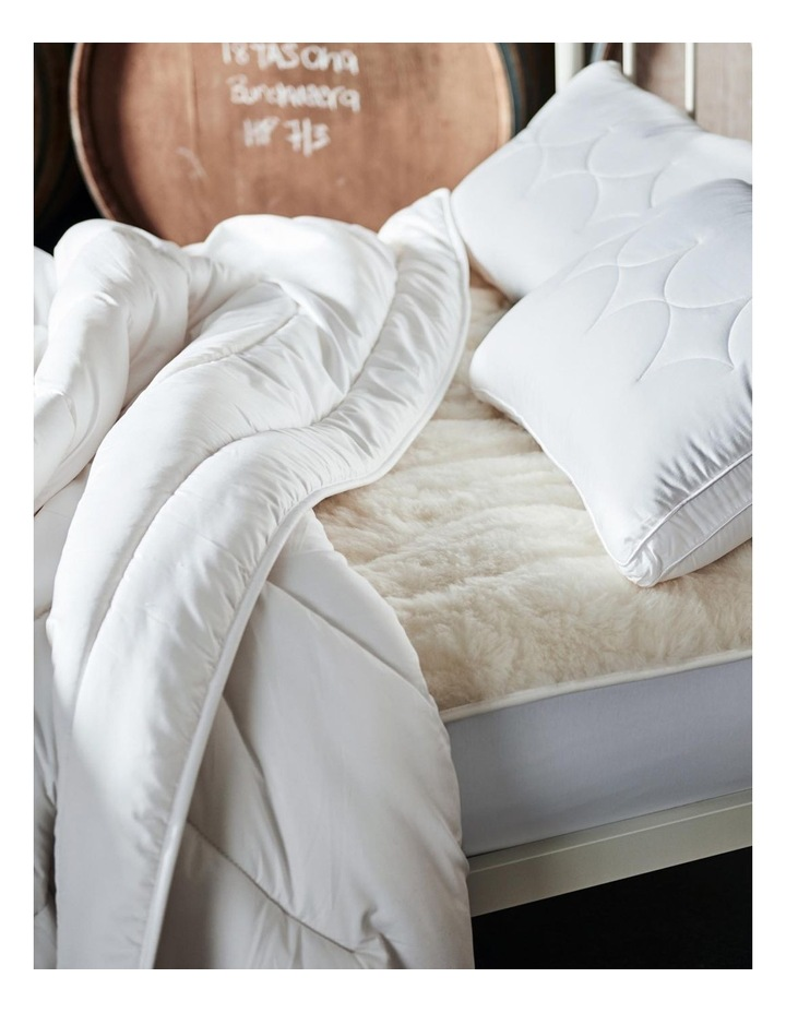 Sleep Restful Wool Mattress Topper image 3