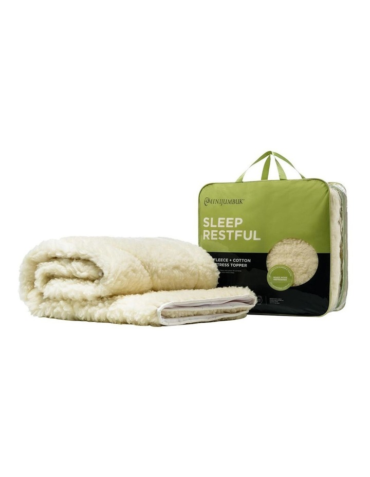 Sleep Restful Wool Mattress Topper image 5