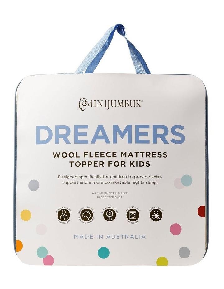 Dreamers Wool Fleece Mattress Topper for Kids image 1
