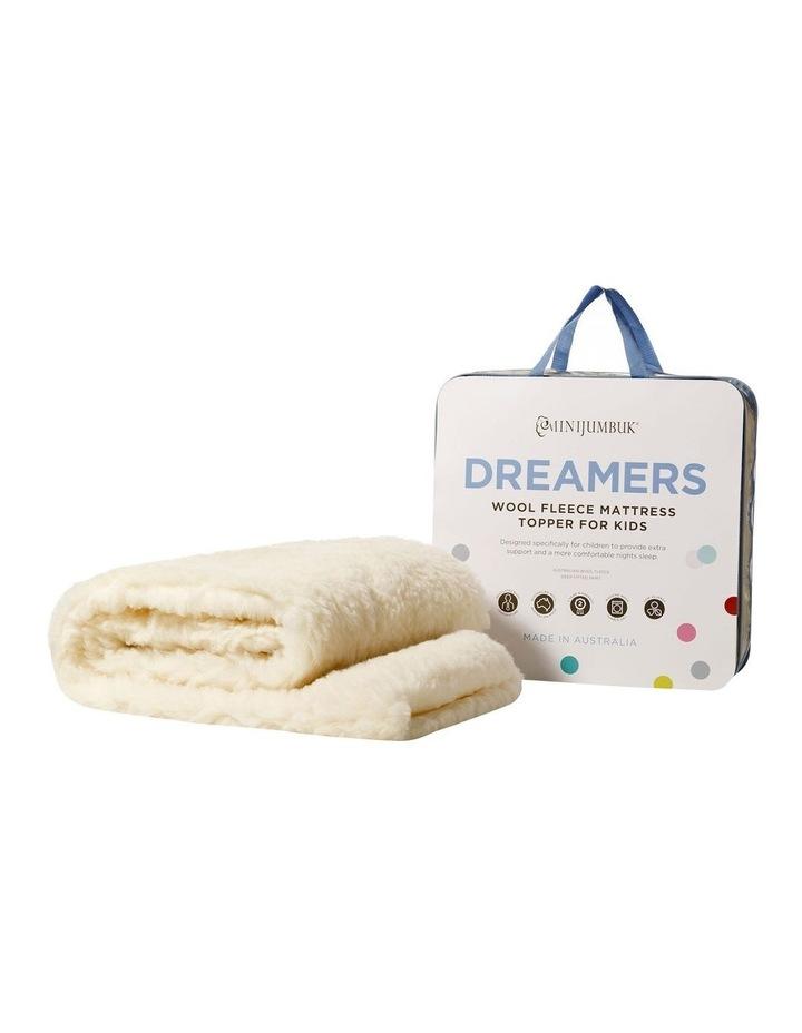 Dreamers Wool Fleece Mattress Topper for Kids image 5