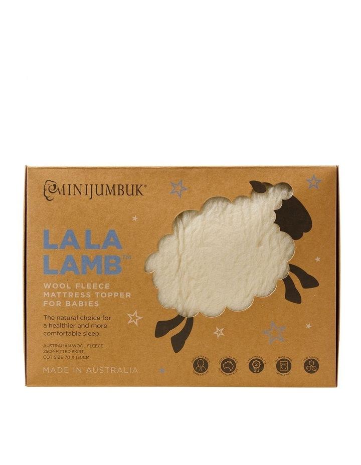 La La Lamb Mattress Topper image 1