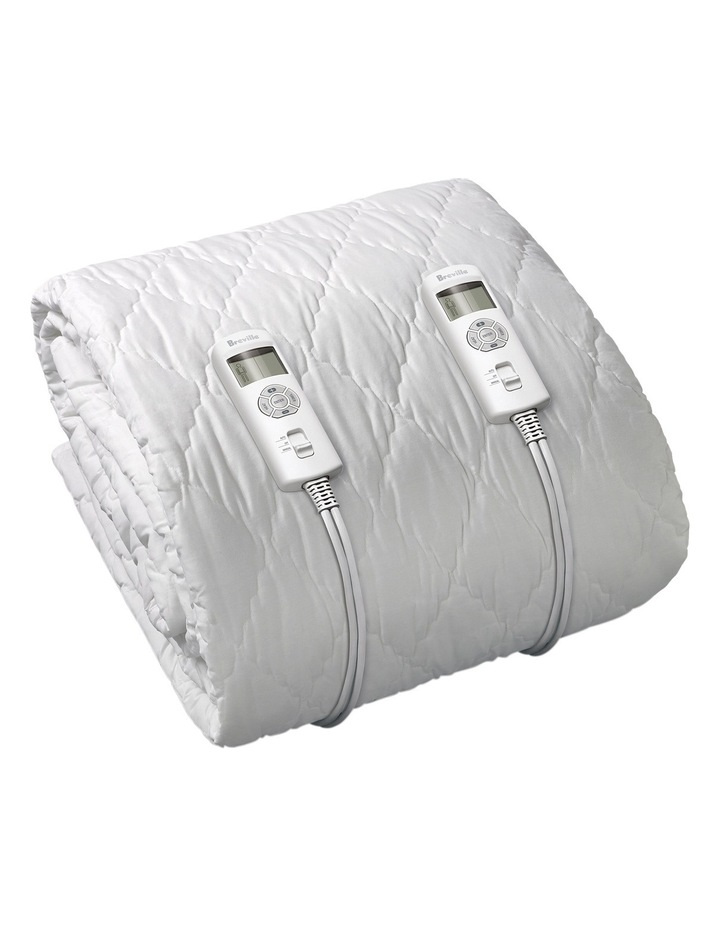 BodyZone Quilted Fitted Heated Blanket image 2