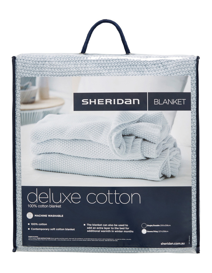Deluxe Cotton Blanket image 1