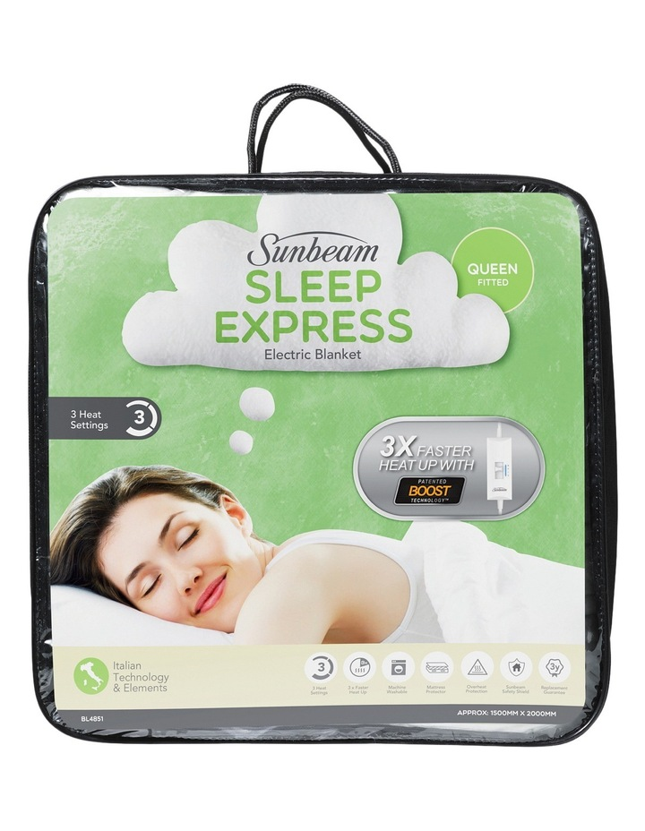 Sleep Express Fitted Electric Blanket image 1