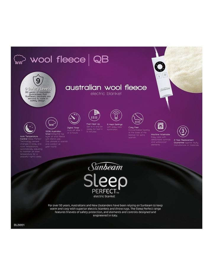 Sleep Perfect Wool Fleece Electric Blanket image 3