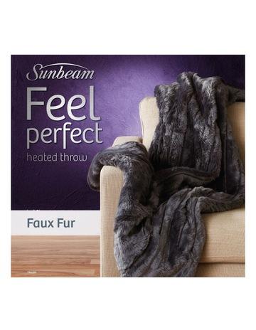 d4a486dc47 Sunbeam Feel Perfect Faux Fur Throw