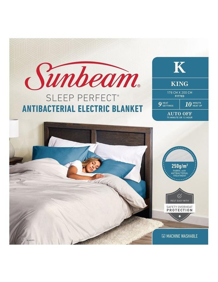 Sunbeam Sleep Perfect Antibacterial Electric Blankets image 1