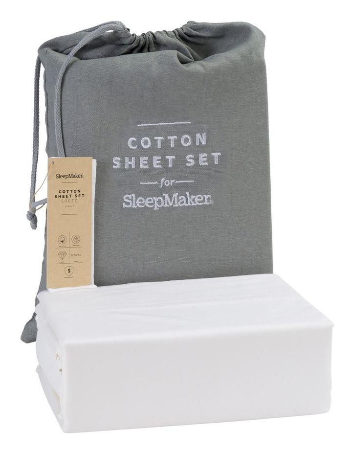Sleep Collections Tencel Cotton Sheet Set image 1