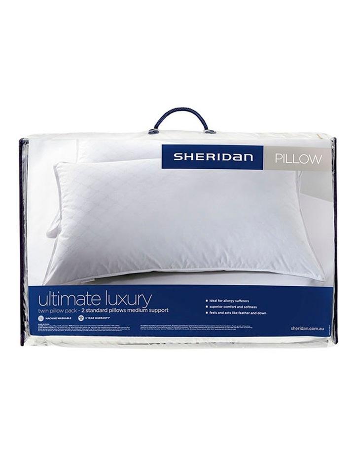 Sheridan Ultimate Luxury Twin Pack - Medium Standard Pillows image 1