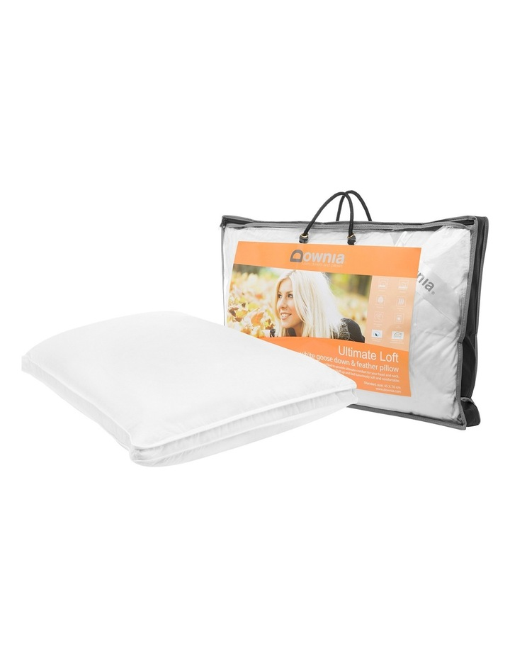Ultimate Loft 50/50 Goose Feather & Down Pillow image 2