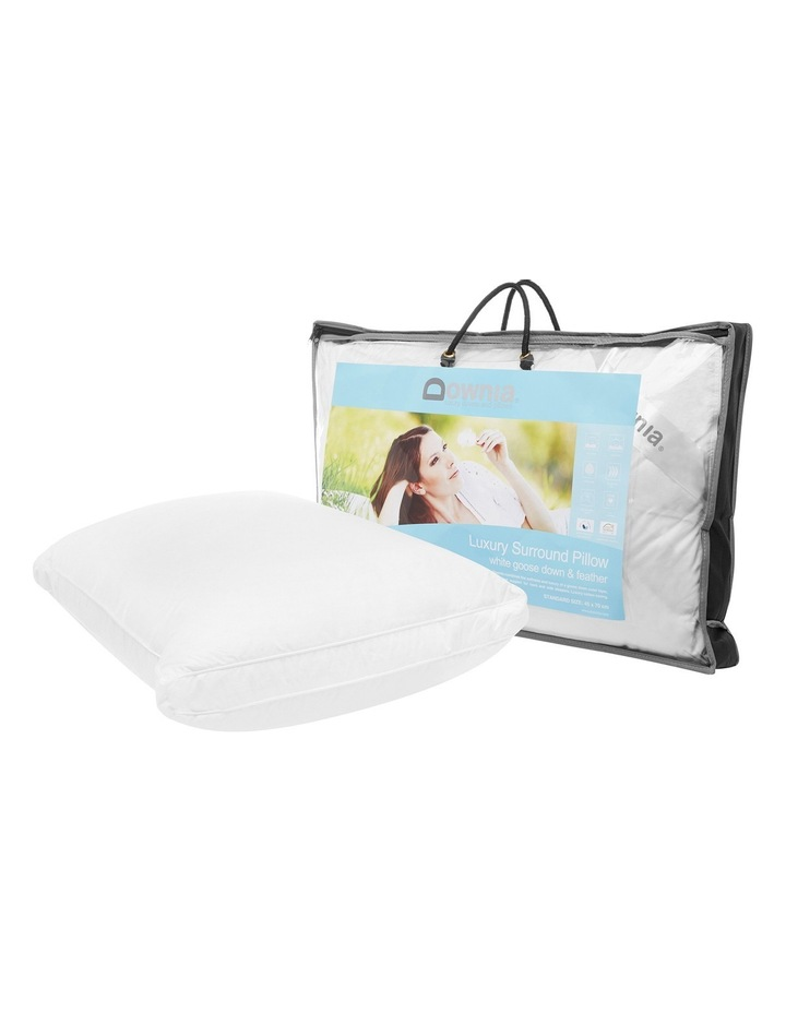 Luxury Surround Goose Down & Feather Pillow image 2