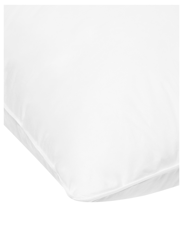 Downia Double Surround White Duck Down & Feather Pillow - Firm image 3