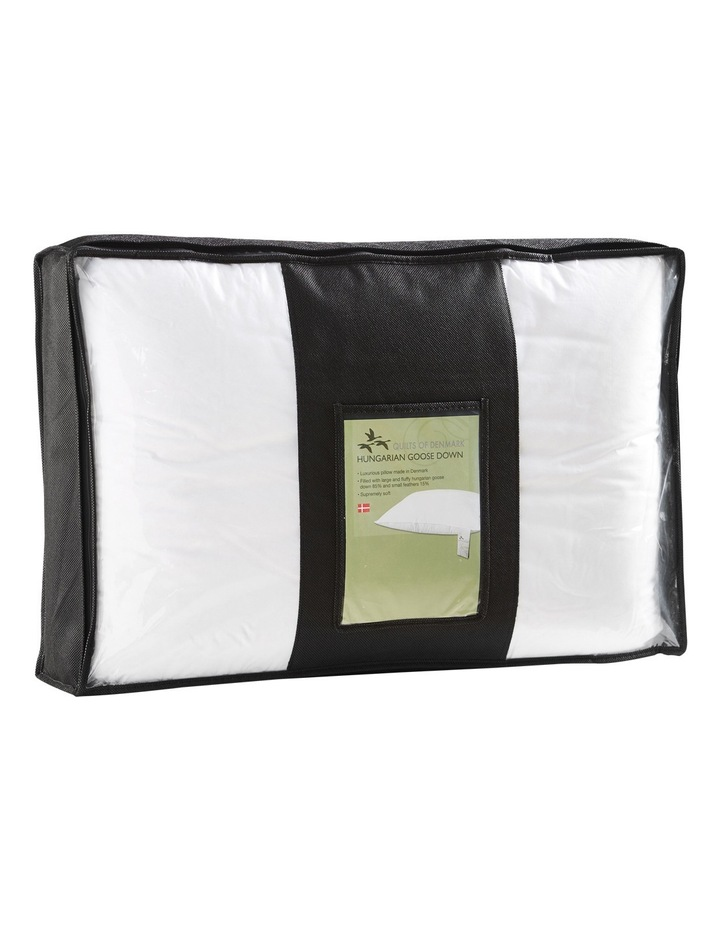 QOD 85/15 White Hungarian Goose Down Pillow image 1
