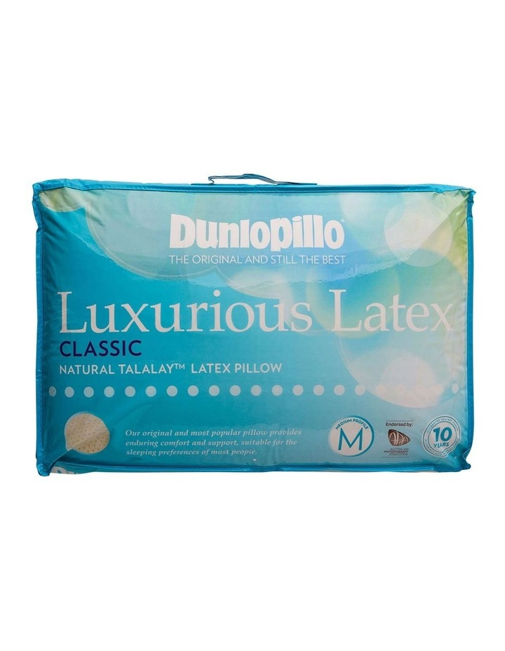 Luxurious Latex Medium Profile Pillow image 1