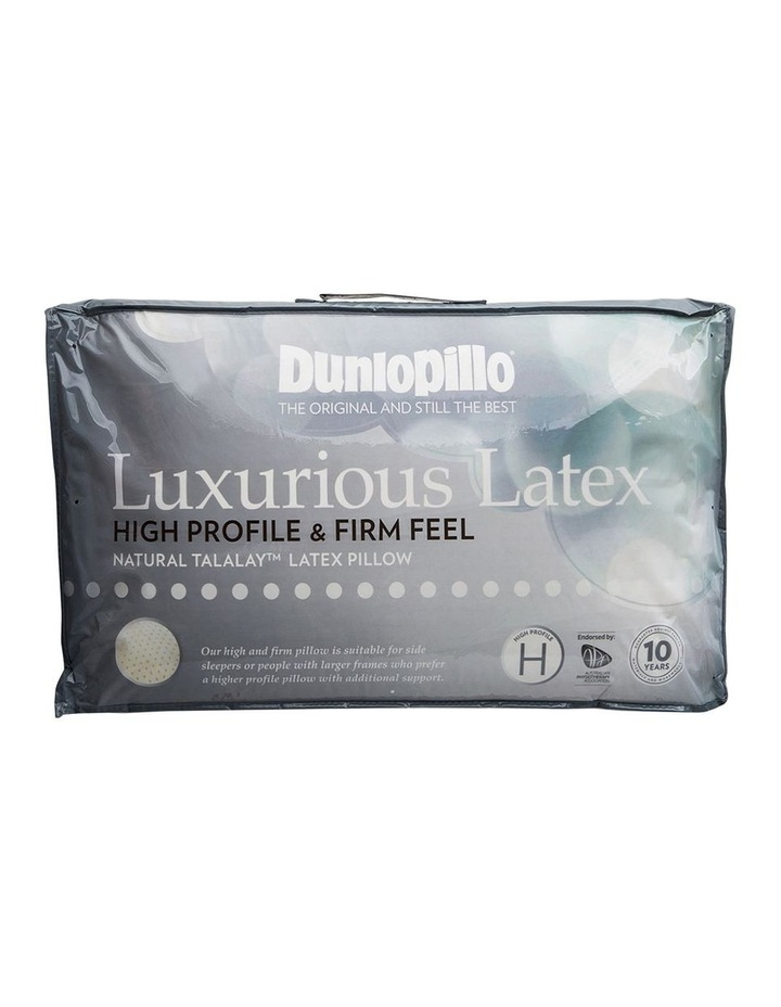 Luxurious Latex High Profile Pillow image 2