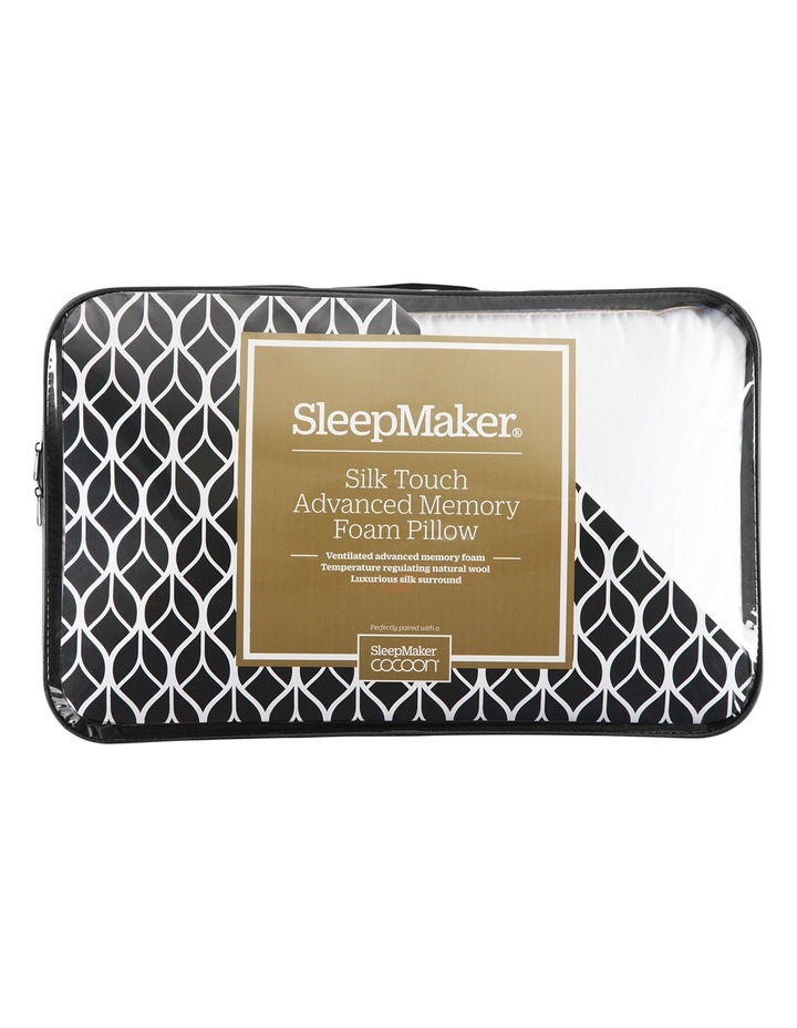Cocoon Silk Touch Advanced Memory Foam Pillow image 1