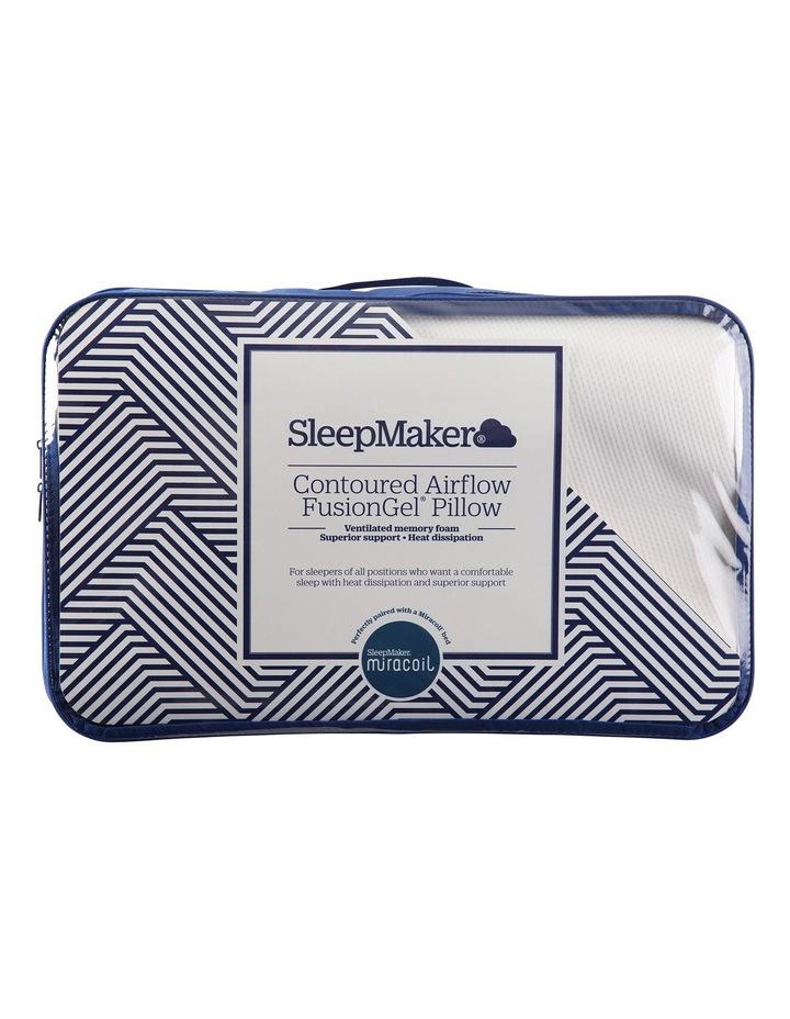 Miracoil Contour Airflow Fusion Gel Pillow image 1