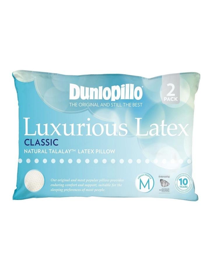 Luxurious Latex Classic in Medium Profile & Feel 2 Pack image 1