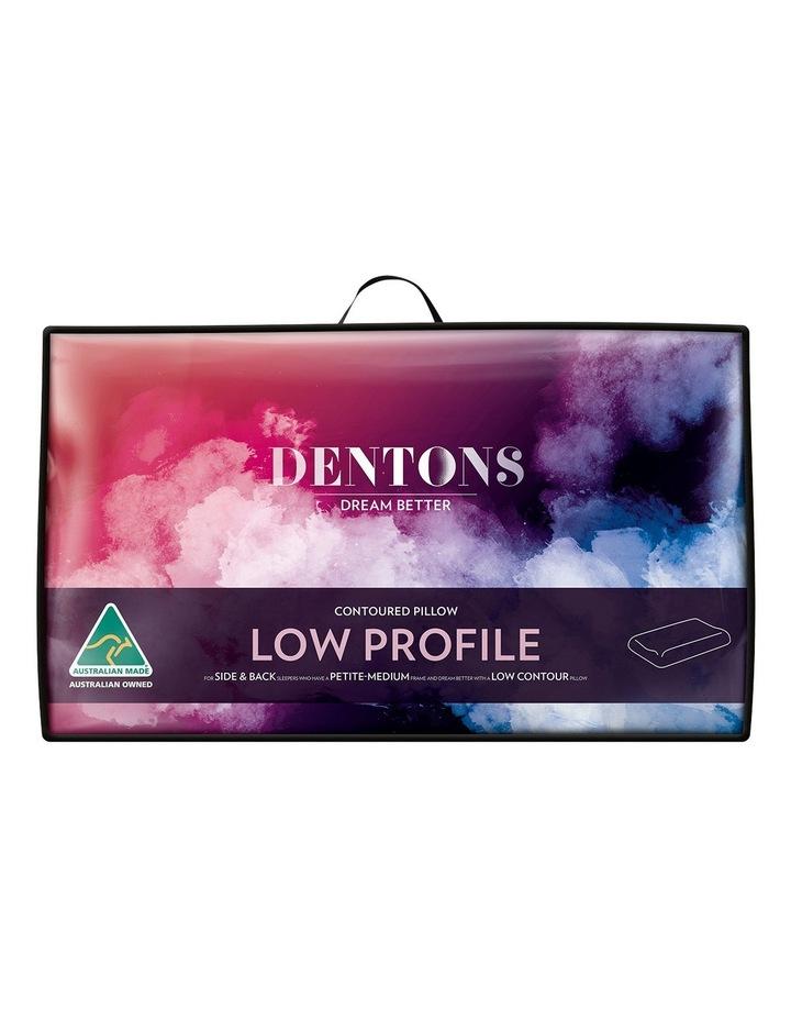 Contoured Foam Pillow in Low Profile image 1