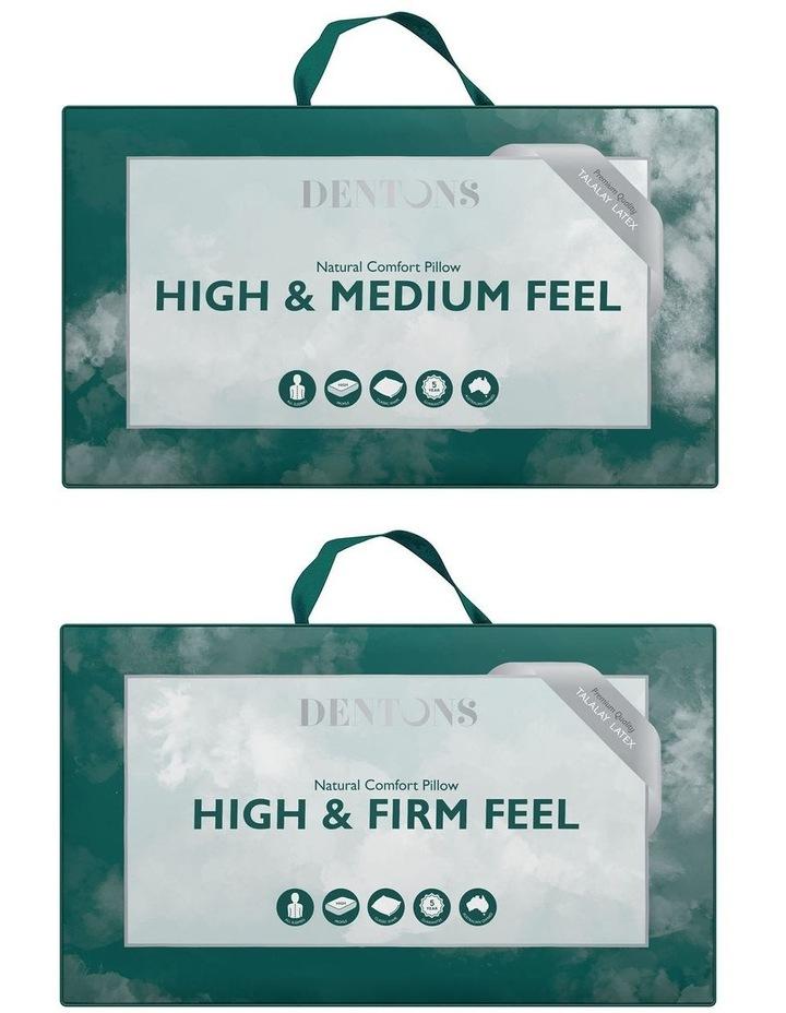 Natural Latex High/Medium Feel & High/Firm Feel Pillow image 1