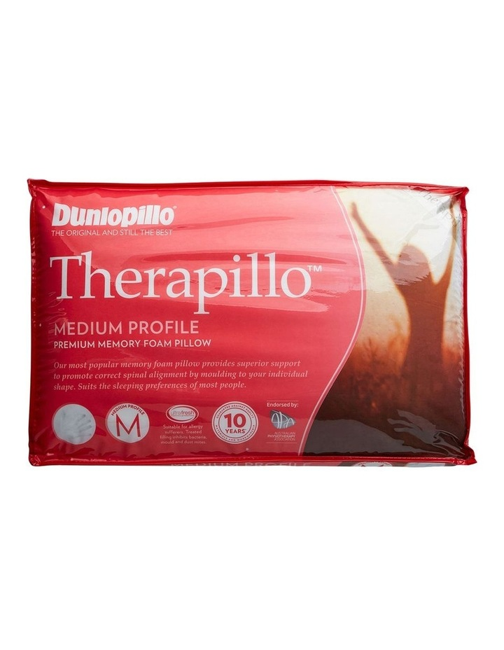 Therapillo Premium Support Memory Foam Pillow Firm Feel image 1