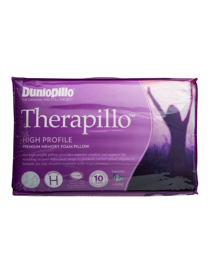 Therapillo Premium Support Memory Foam Pillow Firm Feel image 2