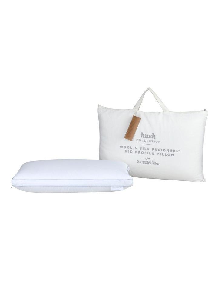 Sleep Collections Hush Wool and Silk FusionGel Pillow image 1
